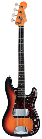 Fender American Vintage '62 Precision Bass with Case