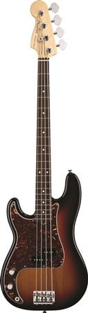 Fender American Standard P Bass Lefty Rosewood with Case