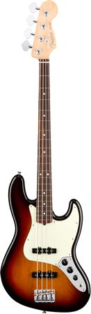 Fender American Pro Jazz Bass Rosewood Neck 3 Color Sunburst with Case