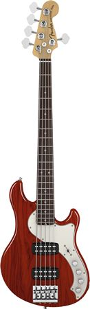 Fender American Deluxe Dimension Bass V HH Rosewood with Case