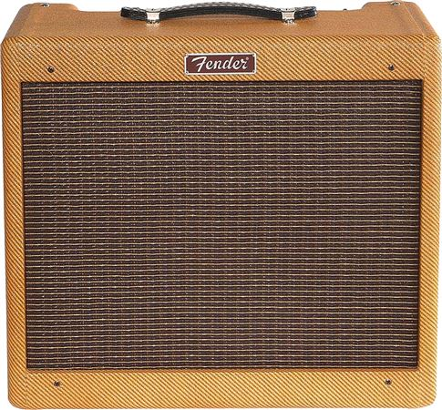 Fender Blues Junior Lacquer Tweed Tube 1x12 15 Watt Combo Amplifier
