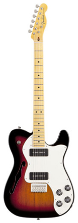 Fender Modern Player Telecaster Thinline Deluxe Maple Fretboard