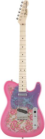Fender Limited Edition Classic 69 Telecaster Pink Paisley