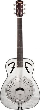 Fender FR55 Metal Resonator Guitar