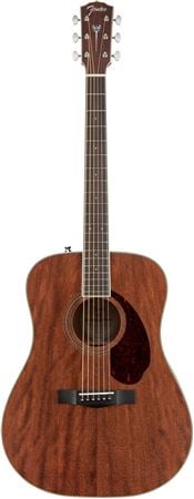 Fender Paramount PM1 Standard Dreadnought NE All Mahogany with Case