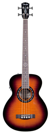 Fender T-Bucket Acoustic Electric Bass Guitar