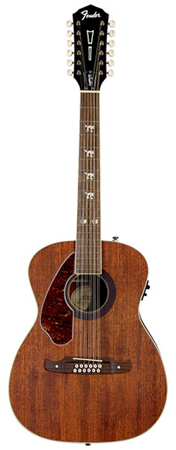 Fender Tim Armstrong Hellcat 12 String Lefty Acoustic Electric Guitar