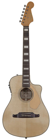 Fender Malibu SCE Acoustic Electric Guitar