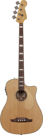 Fender Kingman Bass SCE Acoustic Electric Bass Guitar