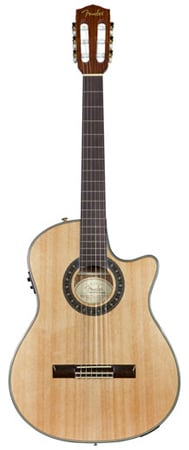 Fender CN240SCE Thinline Classical Acoustic Electric Guitar