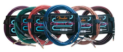 Fender California Guitar Instrument Cable 3 Foot