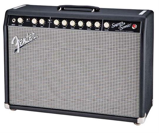 Fender Super Sonic 22 Tube 1x12 Guitar Combo Amplifier