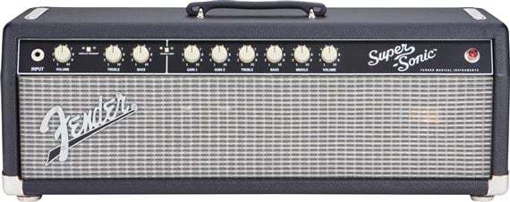 Fender Super Sonic 60 Guitar Amplifier Head