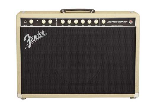 Fender Super Sonic Guitar Combo Amplifier