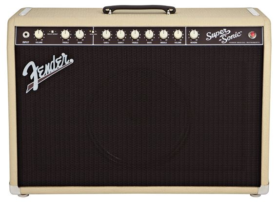 Fender Super Sonic 60 1x12 Tube Guitar Combo Amplifier