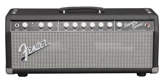 Fender Super Sonic 22 15 Watt Guitar Tube Amplifier Head