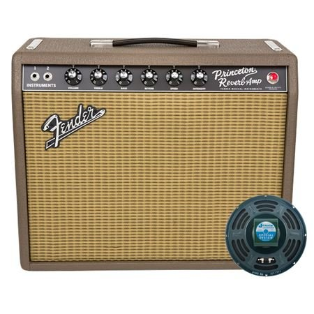 Fender LE Exclusive 65 Princeton Reverb Fudge Brownie 1x10 Tube Combo