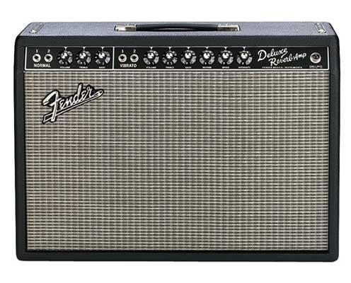 Fender 65 Deluxe Reverb Guitar Combo Amplifier