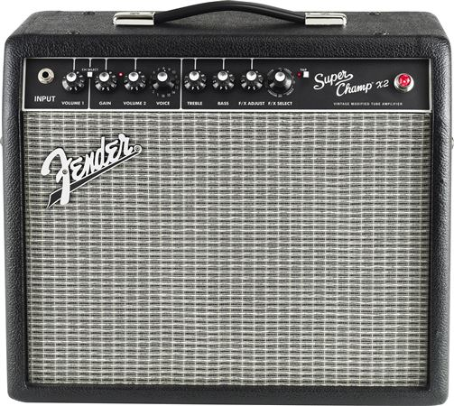 Fender Super Champ X2 15 Watt 1x10 Tube Guitar Combo Amplifier
