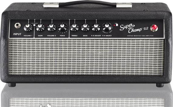 Fender Super Champ X2 15 Watt Tube Guitar Amplifier Head