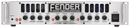 Fender TB1200 Bass Guitar Amplifier Head