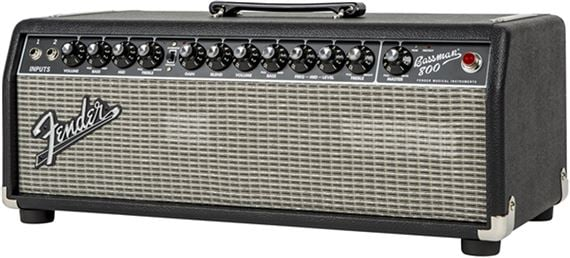 Fender Bassman 800 Pro Head Tube/SS Bass Amp
