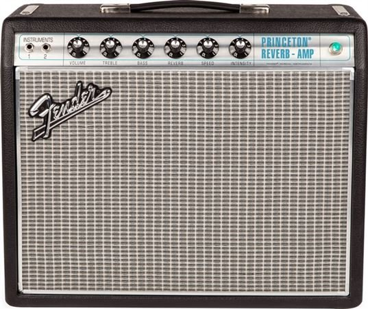 Fender 68 Custom Princeton Reverb 12 Watt 1x10 Guitar Combo Amplifier