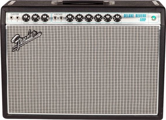 Fender 68 Custom Deluxe Reverb 22 Watt 1x12 Guitar Combo Amplifier