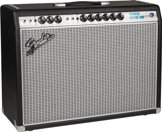 Fender 68 Custom Vibrolux Reverb 35 Watt 2x10 Guitar Combo Amplifier