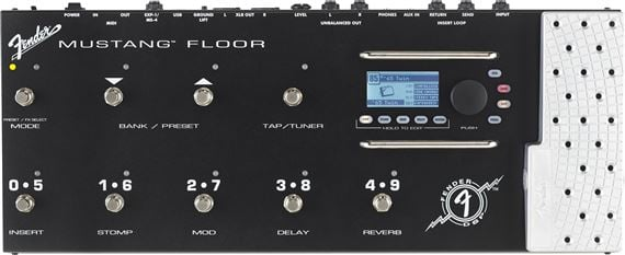 Fender Mustang Floor Multieffects Guitar Processor Pedal