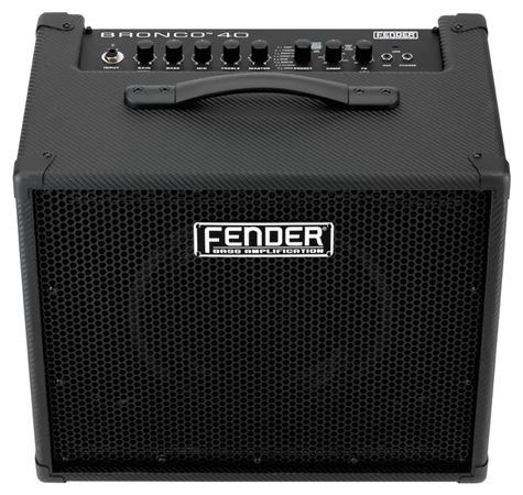 Fender Bronco 40 Modeling 40 Watt 1x10 Bass Guitar Amplifier