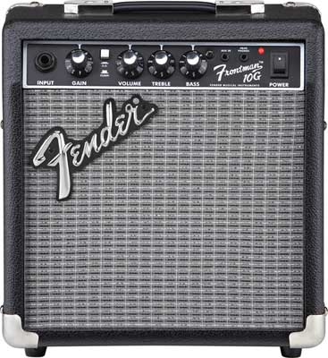 Fender Frontman 10G 10 Watt 1x6 Guitar Combo Amplifier