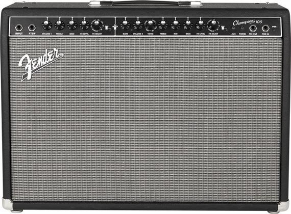 fender champion 100 2x12 guitar combo amplifier. Black Bedroom Furniture Sets. Home Design Ideas