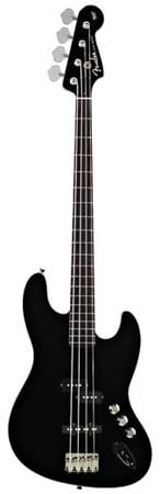 Fender Aerodyne Jazz Rosewood Fingerboard Electric Bass Guitar