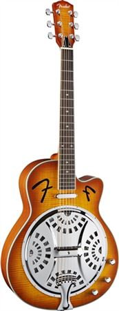 Fender FR50CE Resonator Acoustic Electric Guitar