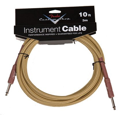 Fender Custom Shop Tweed Guitar Instrument Cable