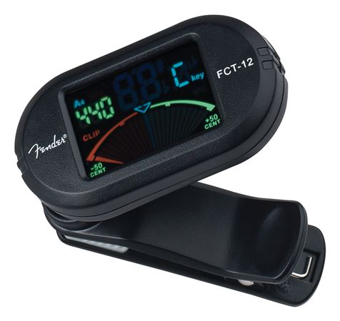 Fender FCT012 Clip On Color Chromatic Tuner