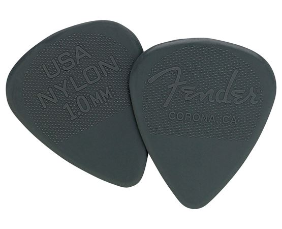 Fender 12 Pack Nylon Guitar Picks