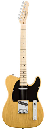 Fender American Deluxe Telecaster Ash Maple Fingerboard with Case