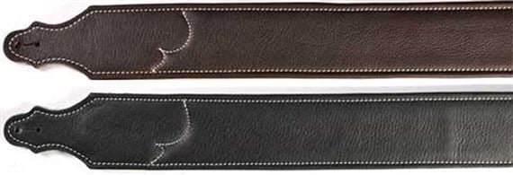 Franklin Padded Glove Leather Guitar Straps 2.5 Inch