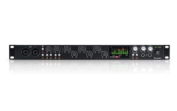 Focusrite Scarlett 18i20 Generation 2 USB Audio Interface