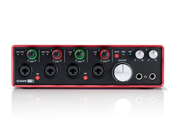 Focusrite Scarlett 18i8 Gen 2 USB Audio Interface