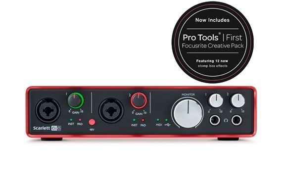 Focusrite Scarlett 6i6 Generation 2 USB Audio Interface