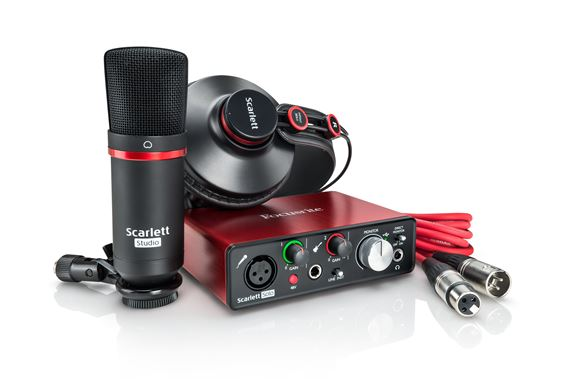 Focusrite Scarlett Solo Studio Generation 2 Recording Package