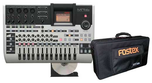 Fostex MR16HDCD Multitrack Digital Recorder