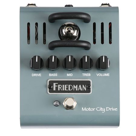 Friedman Motor City Drive Tube Overdrive Pedal