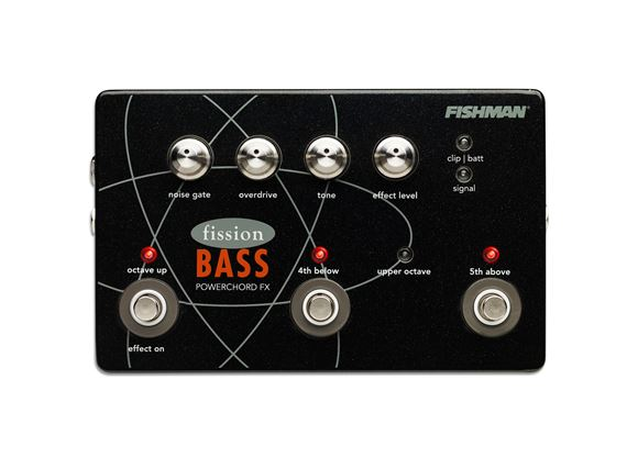 Fishman Fission Bass Powerchord FX Octave Bass Pedal