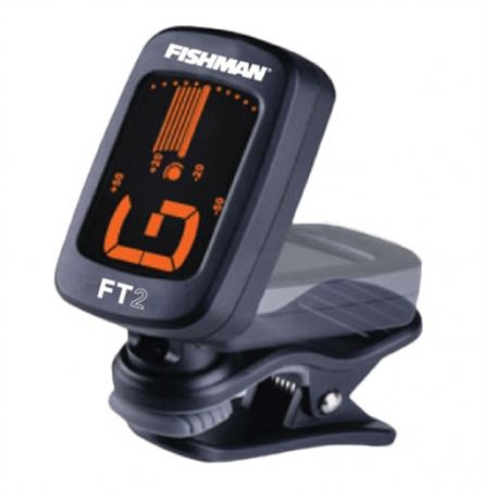 Fishman FT2 FlipOn ClipOn Chromatic Tuner