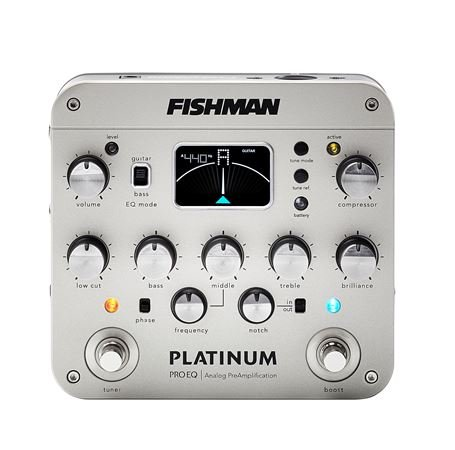 Fishman Platinum Pro EQ/DI Acoustic Guitar Preamp