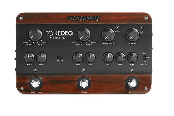 Fishman ToneDEQ Acoustic Guitar Preamp EQ and DI